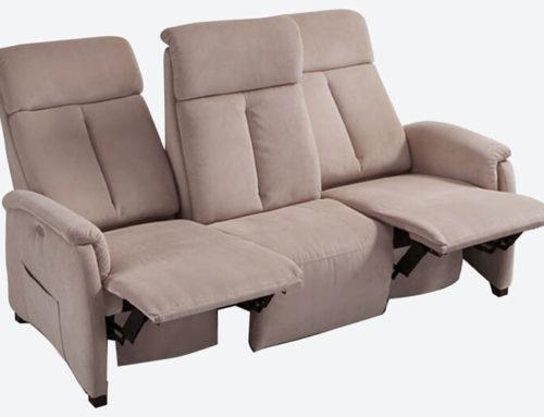Divani relax motorizzati reclinabili per pause rigeneranti