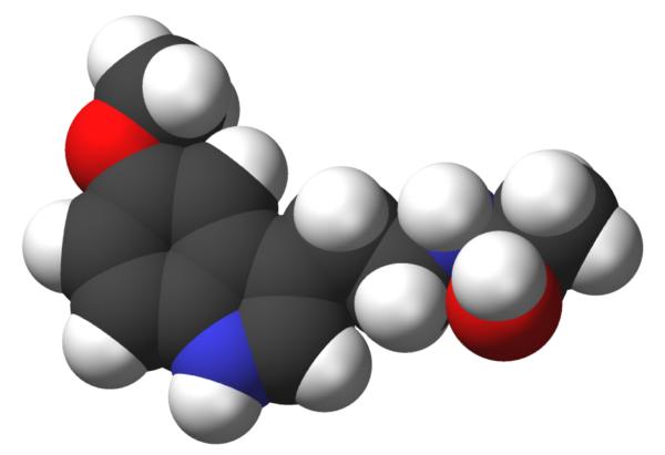 Molecola della Melatonina per dormire